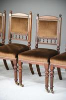 6 Victorian Walnut Dining Chairs (6 of 11)