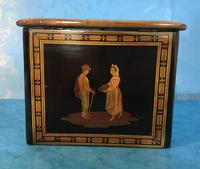 Victorian Italian  Sorento Ware Single Tea Caddy (16 of 16)