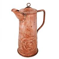 Arts & Crafts Copper Jug (3 of 8)
