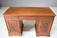Victorian Walnut Desk (3 of 11)