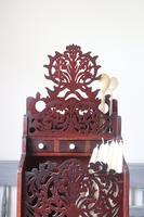 19th Century Scottish Vernacular 'folk Art' Thistle Fretwork Spoon & Candle Box (19 of 36)