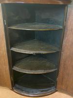 Regency Mahogany Corner Cupboard (4 of 5)