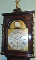 Georgian Scottish Cuban Mahogany Longcase Clock (4 of 10)
