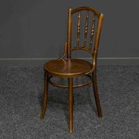 Set of Four Bentwood Chairs by Mundus and J+J Kohn LTD (5 of 9)