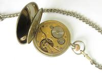 Antique Valmor Pocket Watch & Chain (4 of 6)