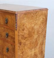 Burr Walnut Chest of Drawers c.1930 (9 of 12)