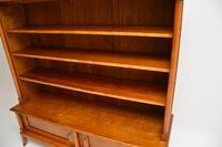 Antique Swedish Biedermeier Satin Birch Bookcase (7 of 12)