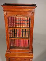 Rare Unusual Regency Period Mahogany Wellington Chest (3 of 8)