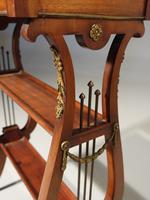 Attractive & Slender Mid 19th Century Mahogany Tricoteuse (4 of 8)
