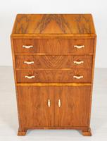 Art Deco Ladies Walnut Compactum (3 of 6)
