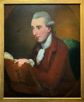Circle: George Romney Exceptional large 18thc Portrait Oil Painting (2 of 13)