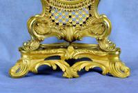 Fine English Ormolu Fusee Mantle Clock - Webster of London (8 of 9)