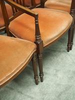 Set of 8 Hepplewhite Style Dining Chairs (6 of 11)