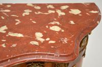Antique French Inlaid Marquetry  Marble Top Cabinet (12 of 12)