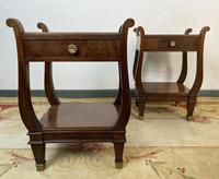 Vintage French Mahogany Bedside Tables (8 of 14)