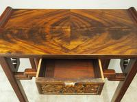 Chinoiserie Mahogany Side Table by Whytock and Reid (4 of 13)