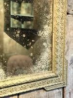 Antique French Crested Mirror (2 of 3)