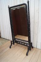 Faux Bamboo Cheval Mirror (8 of 8)