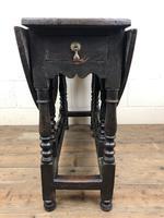 Antique 19th Century Small Oak Gateleg Table (8 of 8)