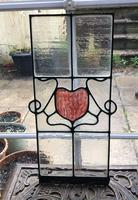 Antique Stained Glass Panel (6 of 12)
