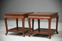 Pair of Chinese Rosewood Side Tables (5 of 13)