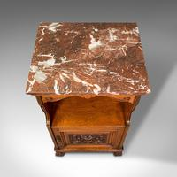 Antique Nightstand, English, Walnut, Bedside Cabinet, Gillow & Co, Victorian (8 of 12)