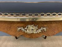 Victorian Kidney Shaped Rosewood Writing Table (17 of 18)