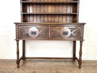 Decorative Antique Carved Oak Dresser (2 of 10)