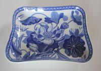 Antique Wedgwood Water Lily Rectangular Dish c.1810 (2 of 5)