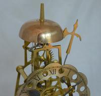 Victorian Skeleton Clock Passing Strike (4 of 5)