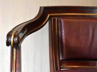 Pair of French Directoire Leather Armchairs (4 of 16)