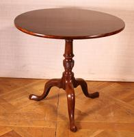 English Tripod Table in Mahogany Early 19th Century (4 of 6)