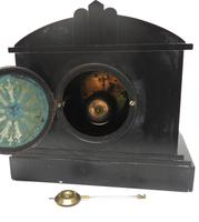 Fine Antique French Slate Mantel Clock - Bell Striking 8-day Mantle Clock c.1900 (11 of 12)