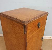 Pair of Burr Walnut Bedside Cabinets c.1930 (6 of 11)