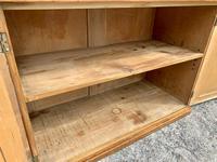Antique Victorian Pine Shelved Larder Cupboard (15 of 19)