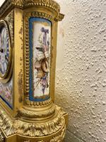 Fine Quality French Ormolu & Porcelain-mounted Mantel Clock by J.B. Delettrez (5 of 5)