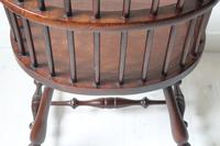 Victorian Scottish Darvel High Comb-backed Windsor Chair, Late 19th Century (31 of 31)