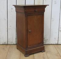 Antique French Bedside Cabinet Pot Cupboard