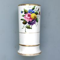 Regency Spode Porcelain Hand Painted Spill Vase Pat 1943 c.1810 (2 of 5)