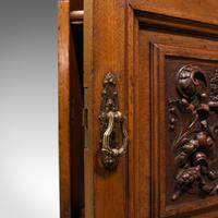 Antique Nightstand, English, Walnut, Bedside Cabinet, Gillow & Co, Victorian (11 of 12)
