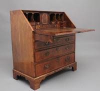 18th Century Walnut & Leather Banded Bureau (8 of 17)