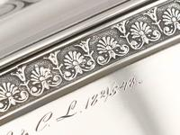 Sterling Silver Locking Biscuit Box - Antique 1845 (11 of 15)