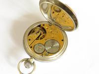 Antique Silver Waltham Bond St Pocket Watch (5 of 5)