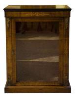 Ormolu Mounted & Inlaid Walnut Pier Cabinet (3 of 7)