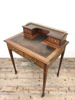 Antique Edwardian Mahogany Bonheur Du Jour Desk (11 of 15)