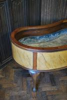 Large Antique Kidney Shaped Jardiniere (4 of 9)