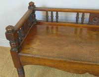 Good Aesthetic Mahogany Window Seat by Henry Pitts of Leeds (4 of 12)