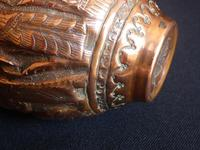Early 19th Century Engraved Persian Copper Vase (12 of 16)