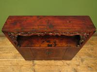 Antique Chinese Qing Shrine Shelf Cabinet with Doors (6 of 18)
