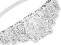 1.33ct Diamond & Platinum Dress Ring (3 of 9)